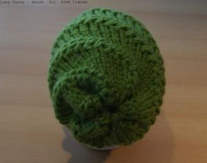 gedrehte Mütze