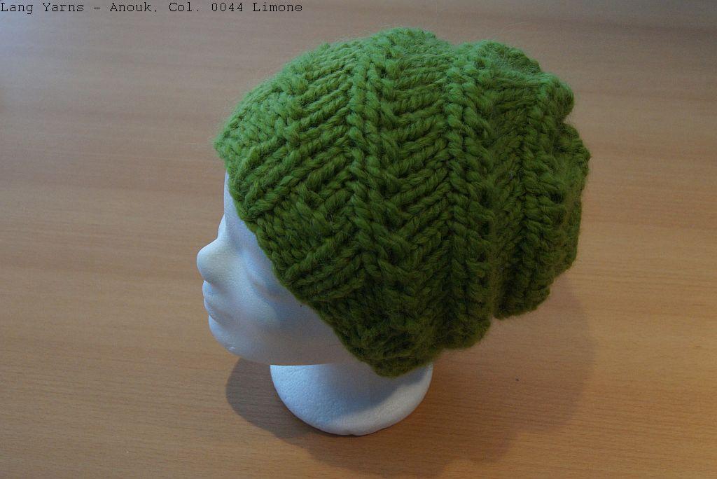 Gratis Strickanleitung - die gedrehte Mütze - Blog Wolle-Wolle.de