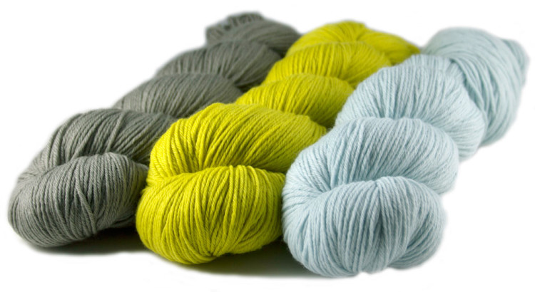 Rosy Green Wool